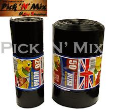 Solide Résistant Poubelle Liner Noir Poubelle Sac De 20 ou 50 Rouleaux épais Pou...
