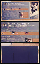 HHOF Hockey Hall of Fame Display Piece Nashville Predators & AHL Affiliate Chart