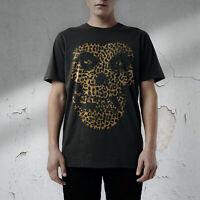 Leopard Skull print Tee Seditionaries style, Sex Pistols London Punk T-Shirt