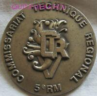 MED12195 - MEDAILLE COMMISSARIAT TECHNIQUE DE L'ARMEE DE TERRE 5e RM