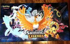 Pokemon Shining Legends Playmat Super Premium Collection Ho-Oh Mew Rayquaza.