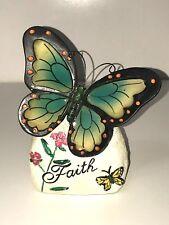 Butterfly Plaque - FAITH