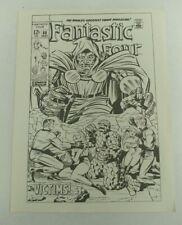 1970 Fantastic Four #86 May Marvel Comics Poster Marvelmania 11 x 8.5 Jack Kirby