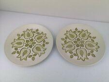 2 Vintage J&G J & G Meakin Maidstone TULIP TIME Dinner Plates NEW and Unused