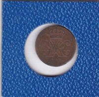 1 Pfennig Hannover 1834 IV Wilhelm Hanover seltener
