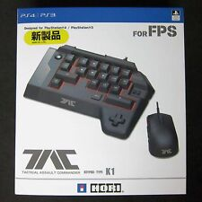 Official Sony Licensed Hori PS4 PS3 PC Tac 4 K1 Tactical Assault Commander Mouse