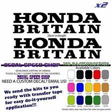 Honda Britain IOM Superbike RC30 NSR RS250 decals X2