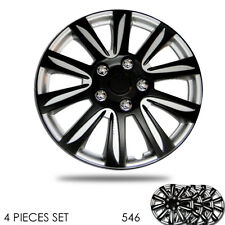 New 15 inch Hubcaps Silver Rim Wheel Cover Hub Cap Full Lug Skin For Hyundai 546