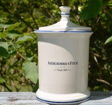 VINTAGE ABERCROMBIE & FITCH PRINKNASH POTTERY GLOUCESTER ENGLAND LIDDED JAR