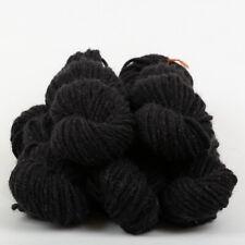 *500g*BRITISH 100% WOOL* Chunky Bulky. Natural Undyed Black. yarn.knitting pure