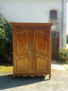 Fantastic Antique French Normandy Armoire, 18th Century
