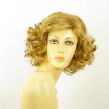 Peluca mujer mediano rizado rubio dorado TRYCIA 24B PERUK