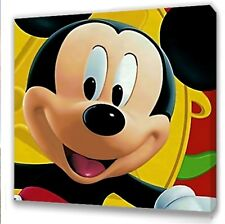 "Mickey Mouse Canvas 10""x10""  Framed Picture I"