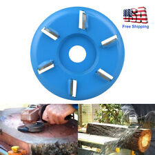 6 Teeth Angle Grinder Shaping Blade Wood Carving Disc Cutting Woodworking Tools