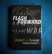 FLASHFORWARD  ROBERT J. SAWYER  1999 FIRST ED HARDCOVER SIGNED HIGH GRADE