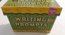 Teacher Created Resources Writing Prompts Level 3, 120 cards Homeschool