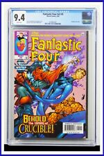Fantastic Four #v3 #5 CGC Graded 9.4 Marvel May 1998 White Pages Comic Book