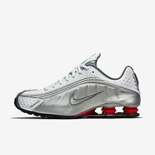 Nike Shox R4 Mens Trainers Sneakers - Comet Red / Metallic Silver - BV1111-100