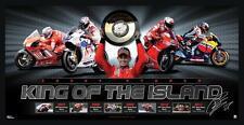 Casey Stoner King of the Island Limited Edition Sportsprint Framed