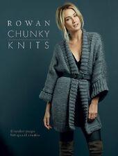 Rowan Chunky Knits knitting  pattern book - big wool and brushed fleece