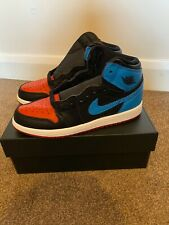 Brand New Nike Air Jordan 1 UNC to CHI, Younger Kids. UK 1