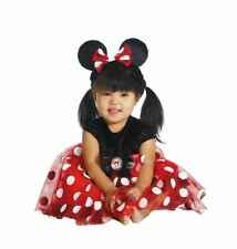 Disney MINNIE MOUSE Costume Outfit Dress & Headband INFANT BABY 12-18 months NEW