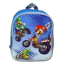 "Licensed Nintendo Wii Mario Kart 10"" Mini Backpack"