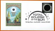 Carbondale Illinois. Shadow Fest August 19-21, 2017 Total Eclipse of the Sun FDC