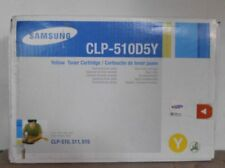 Original Samsung clp-510d5y Toner Yellow pour CLP 510 511 515 neuf dans sa boîte B
