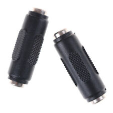 1 Pcs 2.1mm x 5.5mm Female to Female DC Power Socket Audio Adapter Connector*~*