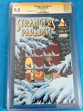 Strangers in Paradise v2 #3 - Abstract - CGC SS 9.8 NM/MT -Signed by Terry Moore