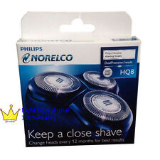 New Philips Norelco Spectra Razor HQ8 Dual Precision Replacement Shaver Heads
