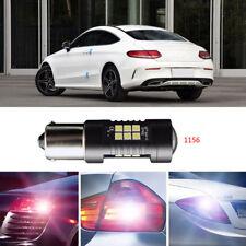 2Pcs Error Free LED Reversing 1156 Back-Up Reverse Light Bulbs For Mercedes C200