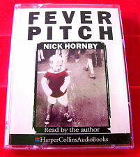 Nick Hornby Reads Fever Pitch 2-Tape Audio Book Football/Arsenal/Autobiography