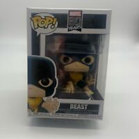 Funko Pop Marvel Comics X-Men 1st Appearance Beast #505 Vinyl Figure 80 year New