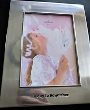 Hallmark A DAY TO REMEMBER PHOTO FRAME - BRAND NEW - in box - wedding