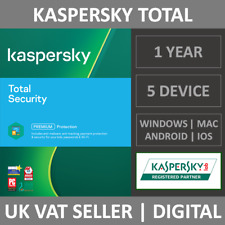 Kaspersky Total Security 2021 - 5 Devices - 1 Year - Antivirus