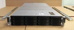 Intel H2312JFKR 4 Node Servers 8 x QUAD-Core XEON E5-2609 64GB 2U Rack Server