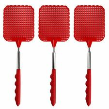 Control Fly Plastic Extendable Pattern Swatter Useful Simple