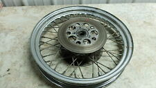 82 Harley Davidson XLH 1000 ironhead Sportster front wheel rim
