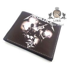 2017 Heavy metals rock music Punk style Short wallet Thrash Meta Metallica
