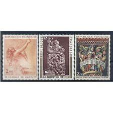 France 1973 - Y & T  n. 1741/43 - Oeuvres d'art (Michel n. 1821-28-35)