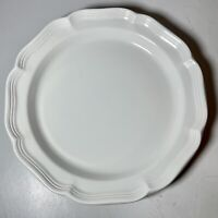 Mikasa French Countryside Buffet Platter Serving Chop Plate White 12 1/2""