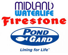 FIRESTONE 1mm RUBBER POND POOL LINER SPECIAL SIZE SQFT