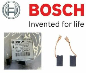 BOSCH 2604320918 Carbon Brushes (VERSION To Fit: GST Jigsaw Models Listed Below)