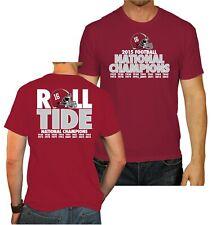Alabama Crimson Tide 2016 Football National Champions Roll Tide Red T-Shirt