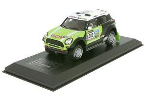 Mini All4 Racing #302 Peterhansel/Cottret Winner Dakar 2013 - 1:43 IXO