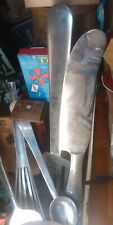 Restaurant STAINLESS LARGE WALL ORNAMENT SILVERWARE