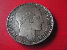 belle piece en argent  20 francs 1933