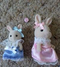 Sylvanian families celebration wedding 2 rabbit bridesmaids discontinued